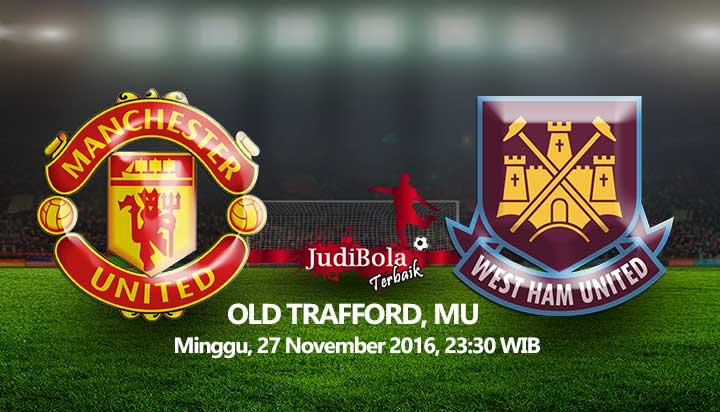 Prediksi Manchester United vs West Ham United 27 November 2016
