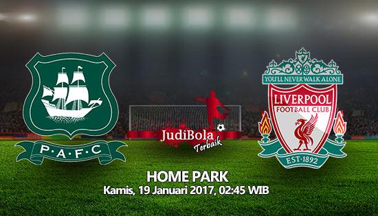 Prediksi Bola Plymouth Argyle Vs Liverpool 19 Januari 2016