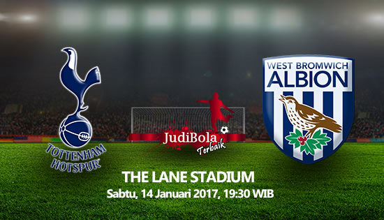 Prediksi Bola Tottenham Hotspur Vs West Bromwich Albion 14 Januari 2016